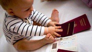 Как вписать ребенка в загранпаспорт нового образца