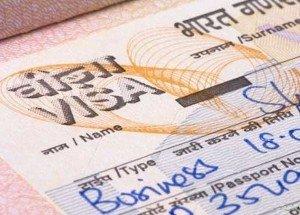 Оформление визы в Индии