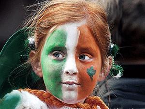 Девочка ирландка