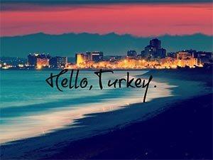 Добро пожаловать в Турцию