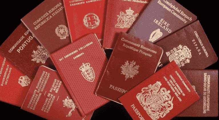 Европейские гражданства