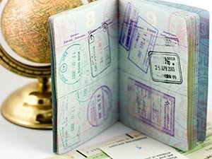 Визы в паспорте