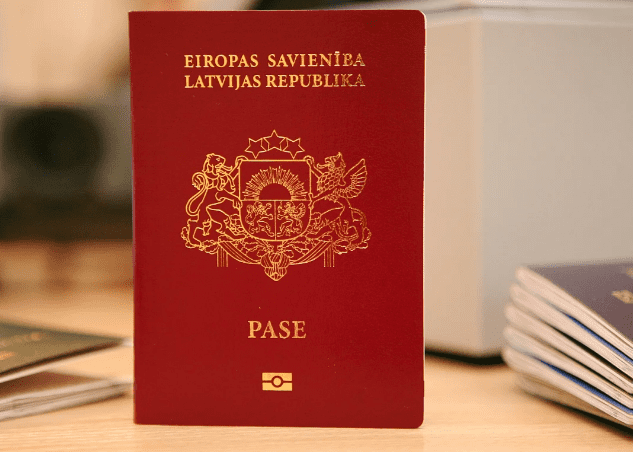 Латвия паспорт
