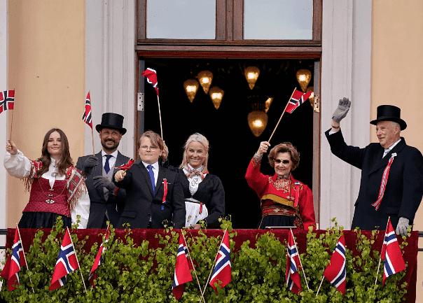Норвежская семья