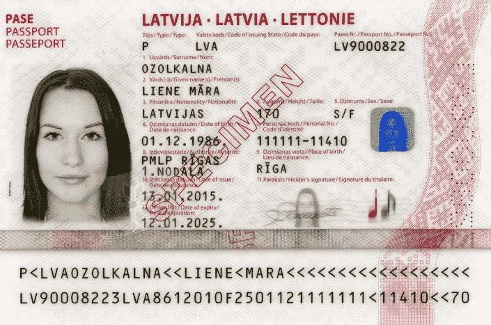 ПМЖ Латвии