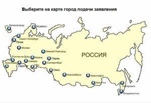 Карта ВЦ