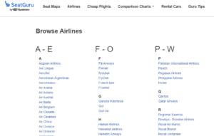 все авиакомпании на одной странице