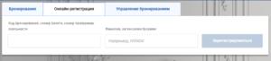 "онлайн-регистрация ""Аэрофлот"""