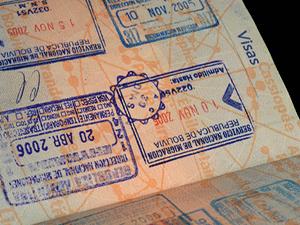 Визы в загранпаспорте