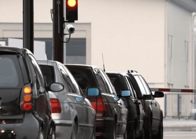 Пересчение границы на авто