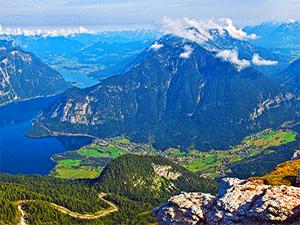 Живописные пейзажи Австрии