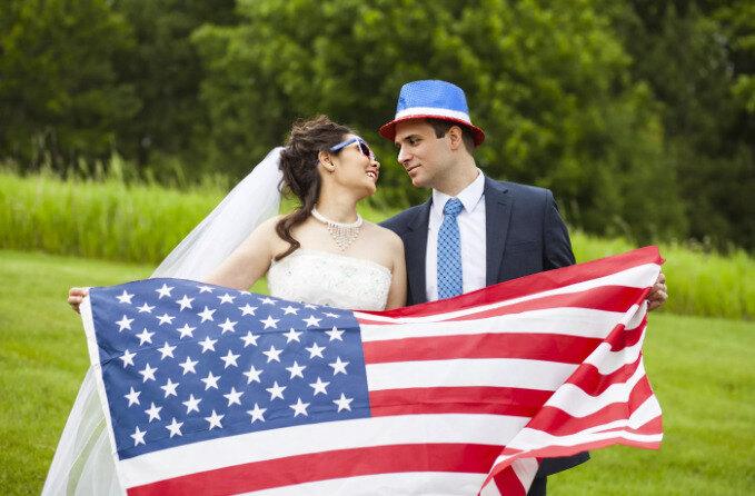 Брак в США