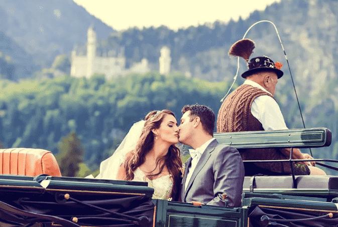 Особенности свадьбы в Германии