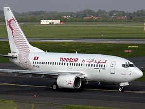 Полет в Тунис