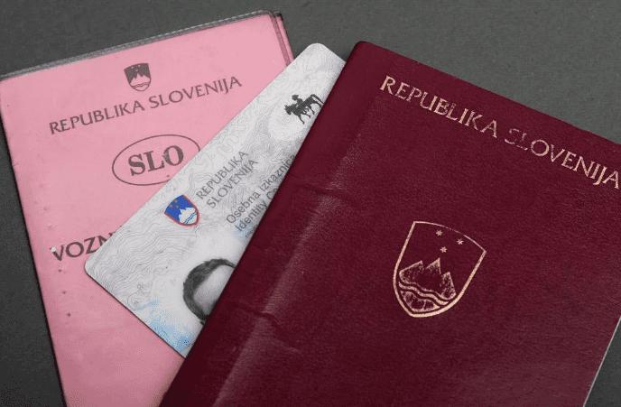 паспорт словении