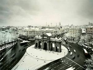Зима в Мадриде