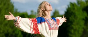 белорусская женщина