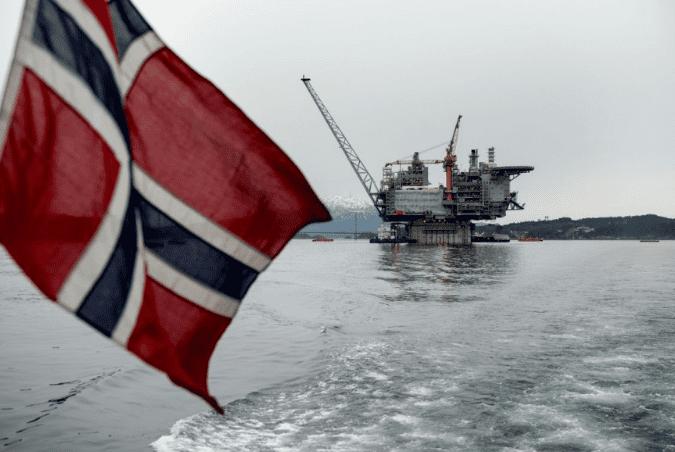 Добыча нефти Норвегия