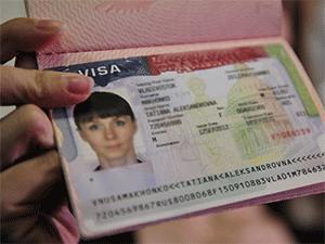 Американская виза