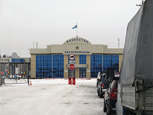 Въезд на территорию Казахстана