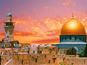 Закаты над Иерусалимом