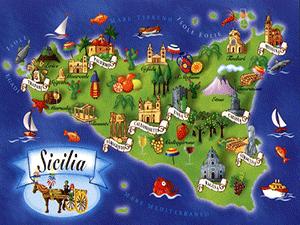 Сицилийский остров