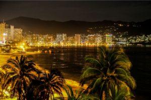 ночная жизнь в Акапулько