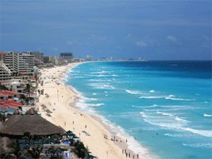 Пляжи в Канкуне