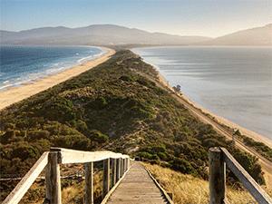 Пляжный отдых в Тасмании