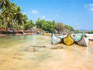 Пляжи индийского штата Гоа