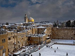 Израиль зимой