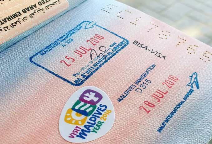 Мальдивы виза