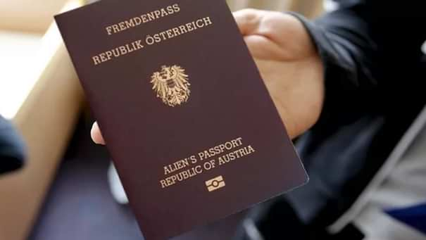 Австрийский_паспорт