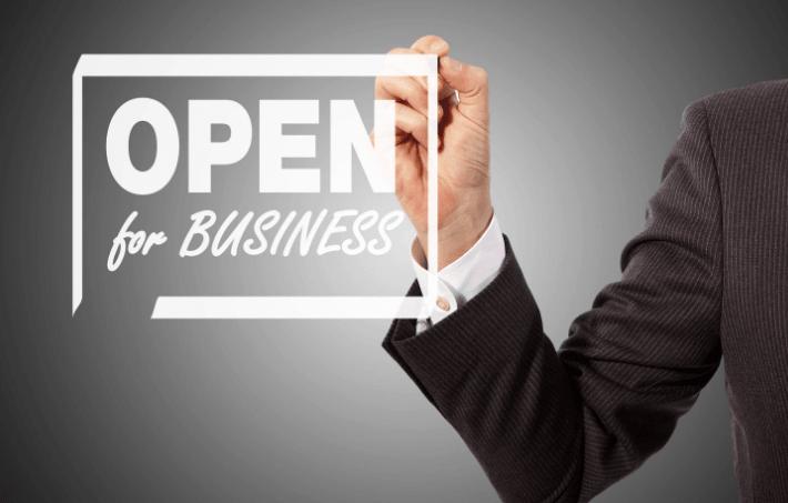 Открытие бизнеса