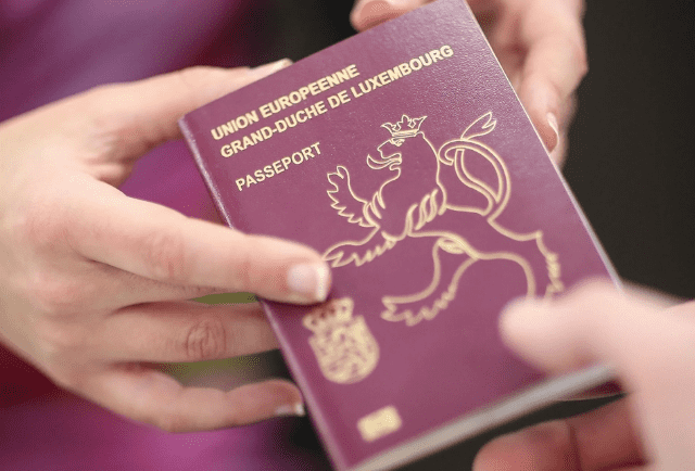 Паспорт Люксембурга