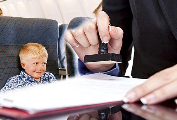 как выехать в разводе с ребенком за границу