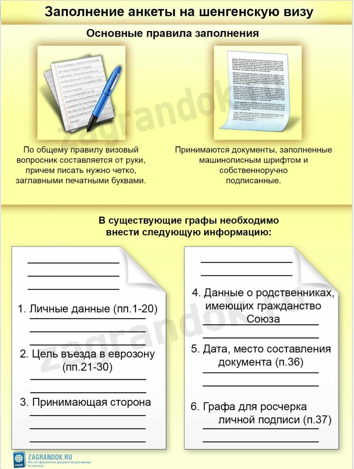 образец анкеты форма 4 для военкомата