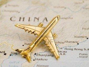 Вылет в Китай