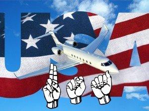 Перелет в США