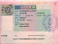 Получение визы в Венгрию для россиян в  2018  году