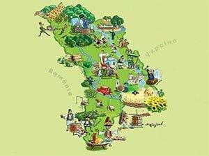 Молдова на карте