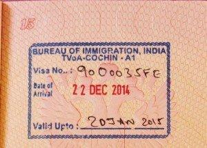 Гоа виза по прилету в 2018 году