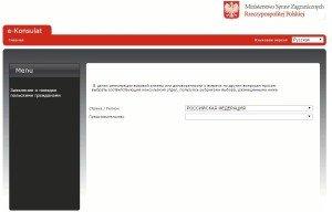 Сайт консульства