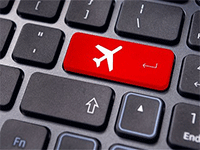 Регистрируем электронный билет на самолет