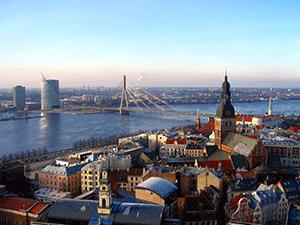 Жизнь в Латвию