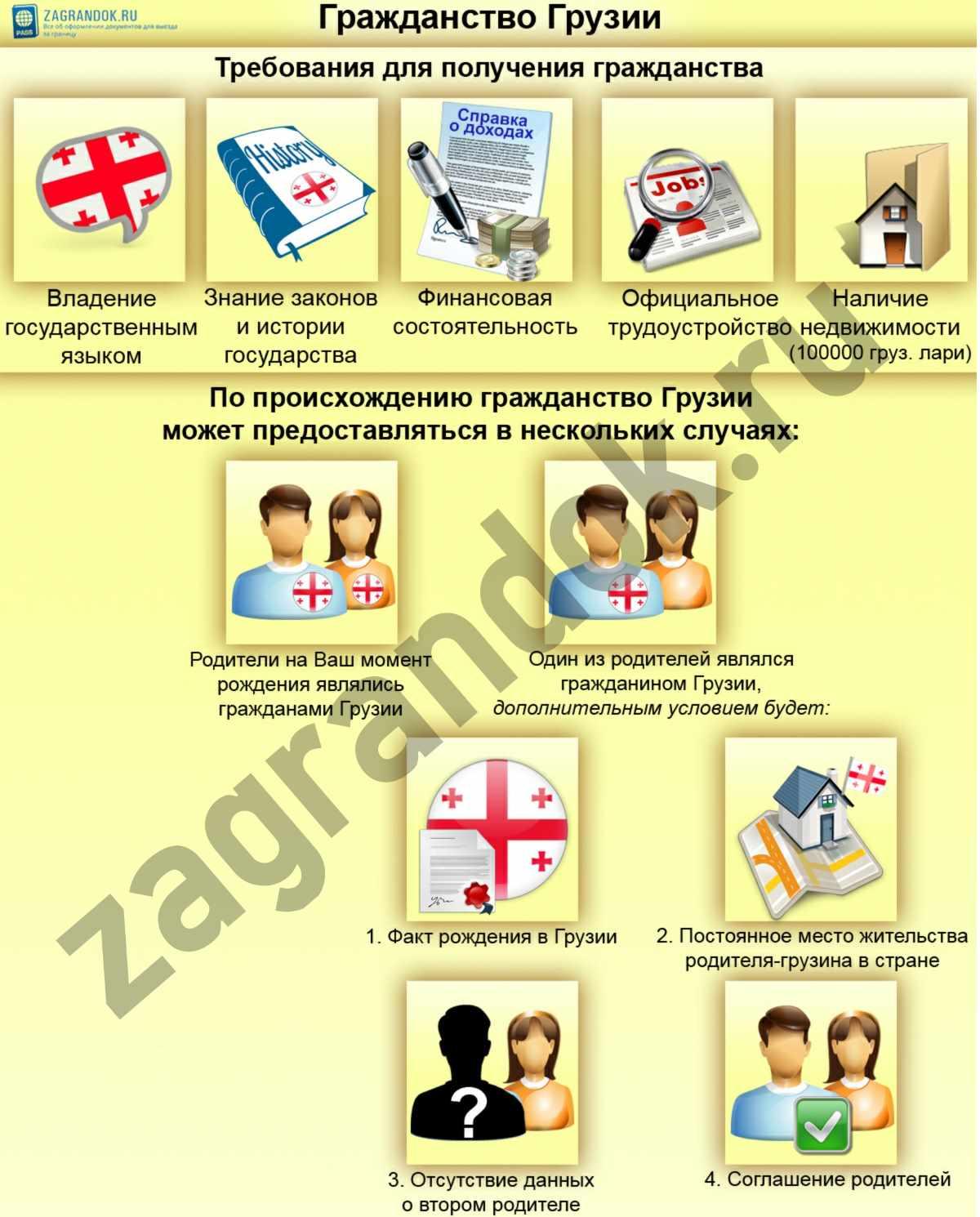 Гражданство Грузии