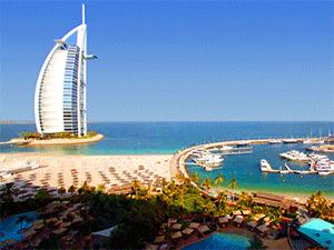 Пляжи в Эмиратах