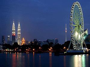 Ночная жизнь в Малайзии