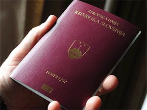 Паспорт гражданина Словении
