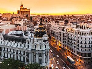 Лето в Мадриде